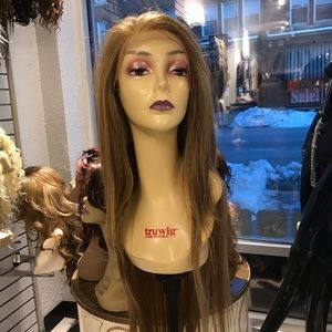 Accessories - Long blonde Lacefront wig sale Freepart 2019 Wig